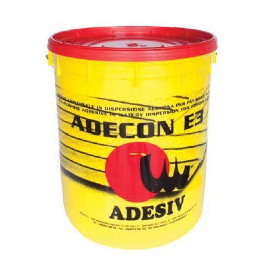 Однокомпонентный воднодисперсионный клей для паркета Adesiv Adecon E3 25кг