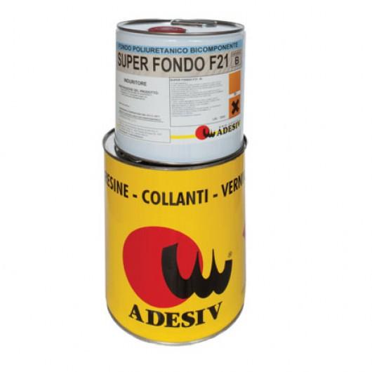 Двухкомпонентная полиуретановая грунтовка для паркета Adesiv Super Fondo F21 10л