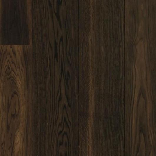 Паркетная доска Karelia Essence Дуб Story 138 Cinder Dark