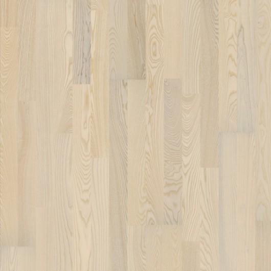 Паркетная доска Karelia Polar Ясень Country Vanilla Matt трехполосный