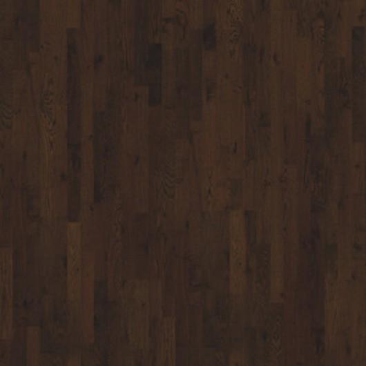 Паркетная доска Karelia Midnight Дуб Barrel Brown Matt трехполосный