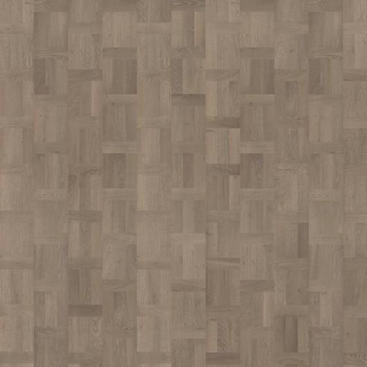 Паркетная доска Karelia Time Дуб Grey плетенка 5G