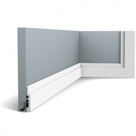 Плинтус Orac Decor SX187F HIGH LINE 2000 x 75 x 12