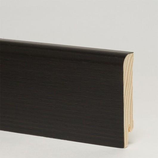 Плинтус Pedross Дуб Черный шпонированный  2500 x 70 x 15