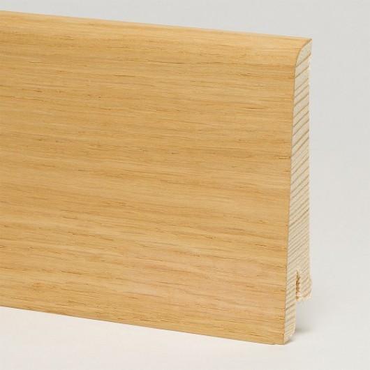 Плинтус Pedross Дуб без покрытия шпонированный  2500 x 80 x 16