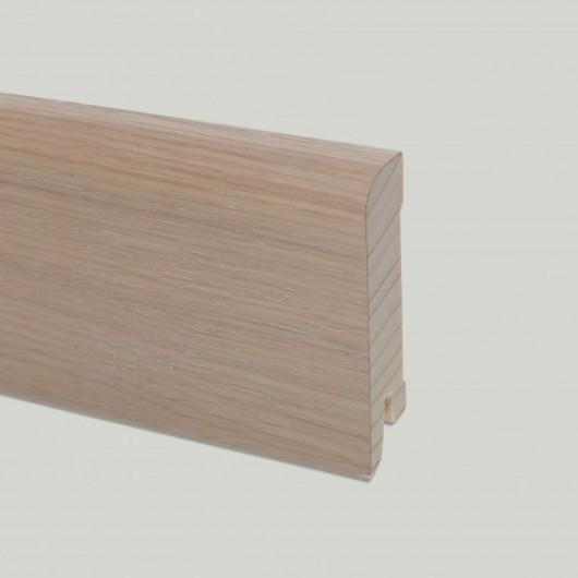 Плинтус Pedross Дуб Кремово-белый шпонированный  2500 x 70 x 15