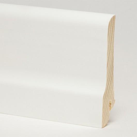 Плинтус Pedross Белый Гладкий  2500 x 80 x 20