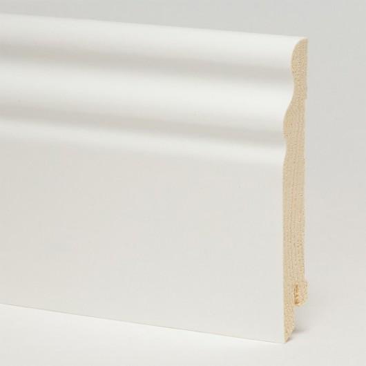 Плинтус Pedross Белый Гладкий SEG100  2500 x 95 x 15