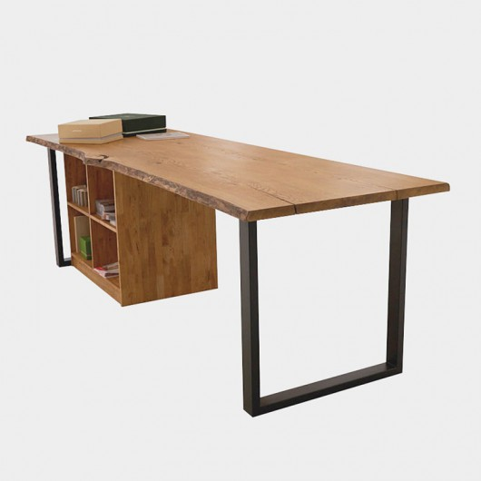 Обеденный стол с тумбой